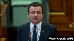 Премиерот на Косово Албин Курти