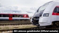 Lithuania - Electric train Vilnius - Minsk
