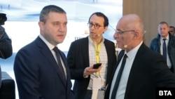 Министърът на финансите Владислав Горанов и шефът на БНБ Димитър Радев