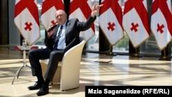 Прэзыдэнт Грузіі Георгі Маргвелашвілі