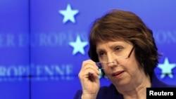 Высший представитель Евросоюза по внешней политике Кэтрин Эштон.