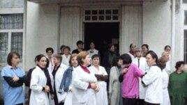 ექიმების საპროტესტო აქცია ზუგდიდში, 2010 წელი