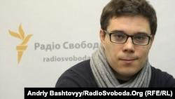 Тарас Березовець у студії Радіо Свобода