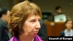 خانم اشتون از جمهوری اسلامی خواسته است تا مشخص کند چه اتهامی متوجه این اشخاص است.