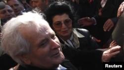 Fikret Abdiqi pas lirimit të sotëm nga burgu në Pulë të Kroacisë