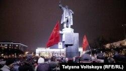 Акция посвященная 101-й годовщине Октябрьской революции, Санкт-Петербург, 7 ноября 2018 года