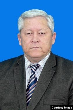 Кыргыз тарыхчысы, ОшМУнун профессору Турдумамат Кадыров. 30.3.2012.