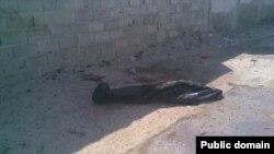 تصویر بمبگذار انتحاری در چابهار. عکس از فردا نیوز