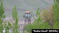 Таджикско-афганская граница.