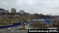 Будівництво на ділянці Кіквідзе, 41-43 у Києві