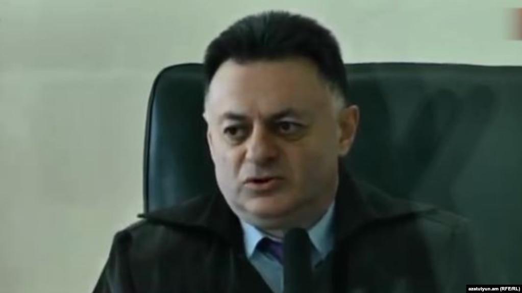 Завершено предварительное следствие по уголовному делу в отношении судьи Давида Григоряна