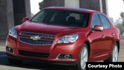 Uzbekistan - The Chevrolet Malibu, which was presented March 20, 2012 in Tashkent, 21Mar2012