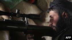 Снайпер в Сирии