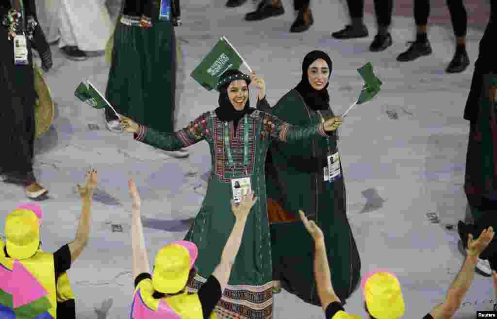 Спортсмены из Саудовской Аравии