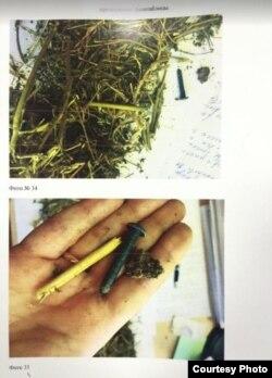В марихуане, похожей на сено, были обнаружены гвозди, нитки, фекалии животных и пр.