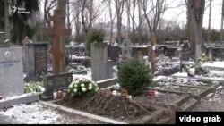 Могила Олександра Олеся, 3 січня 2017 року