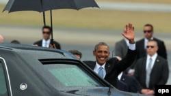 Барак Обама Гаванадагы Хосе Марти аэропортунда. 20-март, 2016-жыл.
