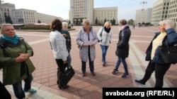 «Маці 328» пасьля сустрэчы ўПалаце прадстаўнікоў, кастрычнік 2018