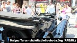 Перегони на ретро-машинах у Львові