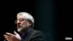 Mir Hossein Musavi, who has described President Mahmud Ahmadinejad's government illegitimate because of what he says was massive vote fraud