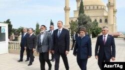 İlham Əliyevin Nardarana səfəri. 21 iyun 2016.