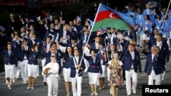 Azərbaycan olimpiya yığması Londonda