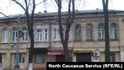 Фасад дома Вахтангова