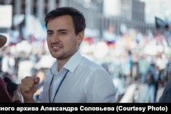 Оппозиционный политик Александр Соловьев, не допущенный до выборов