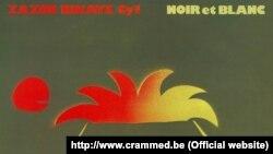 """Detaliu de pe coperta albumului """"Noir e blanc""""."""