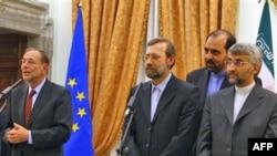 مسول سياست خارجی اتحاديه اروپا می گوید حضور «چند بازيگر» در مذاکرات هسته ای ايران گفت وگوهای کشورهای غربی با اين کشور را پيچيده تر می کند.