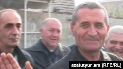 Մուշեղ Սաղաթելյանը դուրս է գալիս բանտից, Երևան, 24-ը նոյեմբերի, 2010թ․