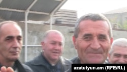 Mushegh Saghatelian is released from prison in Yerevan.