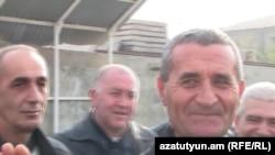 Mushegh Saghatelian is released from prison in Yerevan.