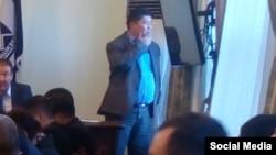 Первый вице-мэр Бишкека Замирбек Малабеков.