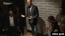 Алексей Навальный на открытии предвыборного штаба в Томске, 17 марта 2017 г.