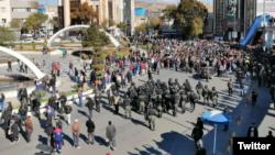 Протесты в Иране. 16 ноября 2019 года.