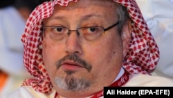 Saudi journalist Jamal Khashoggi was killed at the Saudi consulate in Istanbul in October. (file photo)