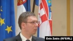 Aleksandar Vučić prilikom posjeta Hrvatskoj, 29. travanj 2013.