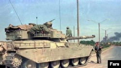 Iran used Chieftain tanks during Iran-Iraq war (1980-88). FILE PHOTO.