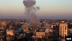 Газа секторы. 11 шілде 2014 жыл. (Көрнекі сурет)