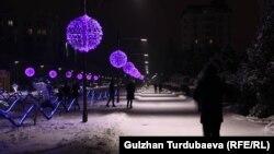 Зима в Бишкеке. Иллюстративное фото.
