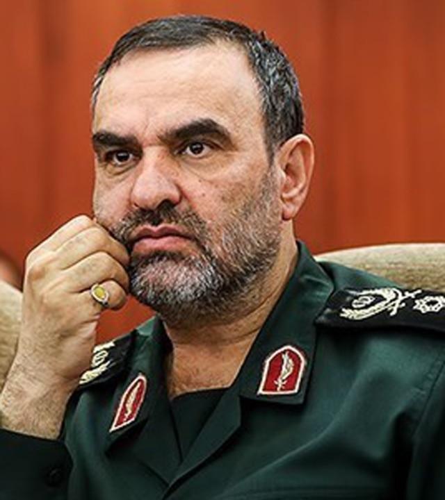 جانشین رئیس سازمان اطلاعات سپاه و فرمانده سابق مجتبی خامنهای در گردان حبیب