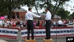 Mitt Romney tokom predizborne kampanje - ilustracija