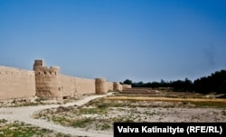 The ancient walls of Balkh, which was once a major city in the Persia of antiquity. It never recovered from the Mongol invasion that destroyed much of the town.