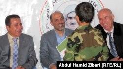 Сириялык оппозиция лидерлери. Ирбил, 20-декабрь, 2013-ж.