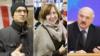 Зьміцер Дашкевіч, Сьвятлана Алексіевіч і Аляксандар Лукашэнка. Фоты: Svaboda.org (зьлева і ў цэтры), Reuters (справа)