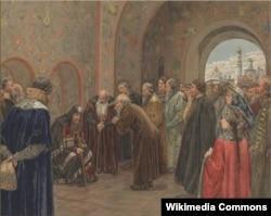 Сергей Милорадович. Разрыв патриарха Никона с царем Алексеем Михайловичем