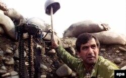Абхазский ополченец. 1993 год