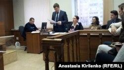Чулпан Хаматова на суде
