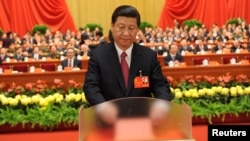 شی جينپينگ همچنين به عنوان ریيس کميسيون مرکزی نظامی، برگزيده شد.